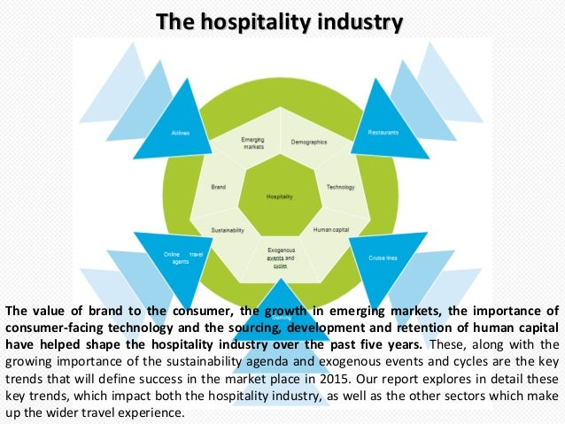 top trends in hospitality sector of