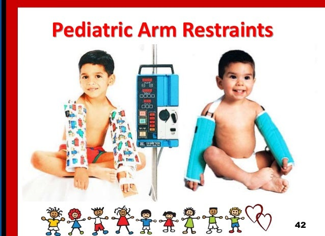 Pediatric Arm Restraints 42