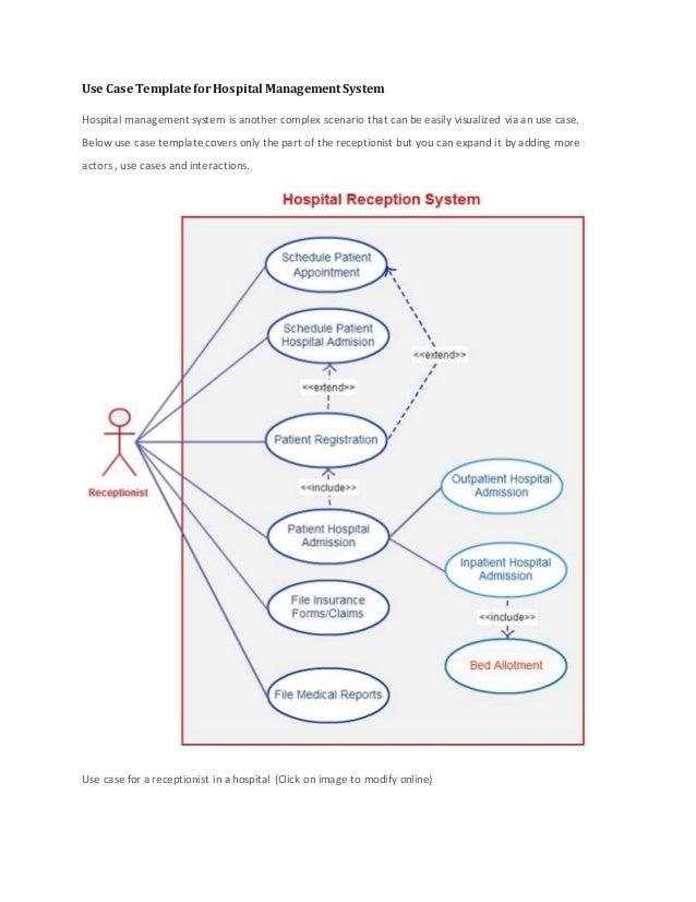 35 Use Case Diagram For Hospital Management System ...