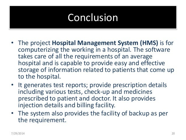 Hospital Management System Php Project Web Engineering