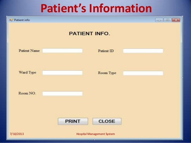online patient information system Emrs are online medical records of the standard medical and clinical data from   beyond the improved systems and quality of care for patients, there are also.