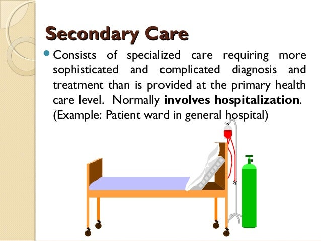 Hospital organizational structures