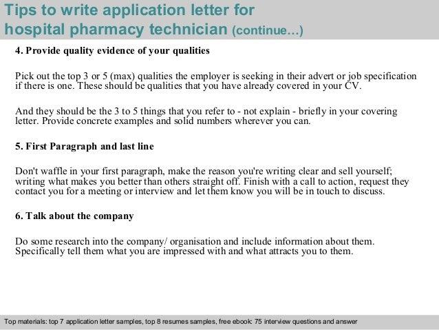 Pharmacy Tech Letters