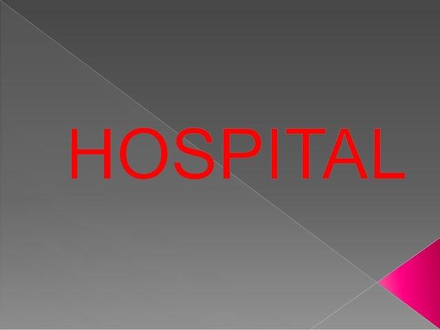 HOSPITAL BUILTING