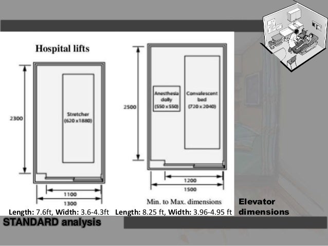 Size Of Hospital Bed Lift