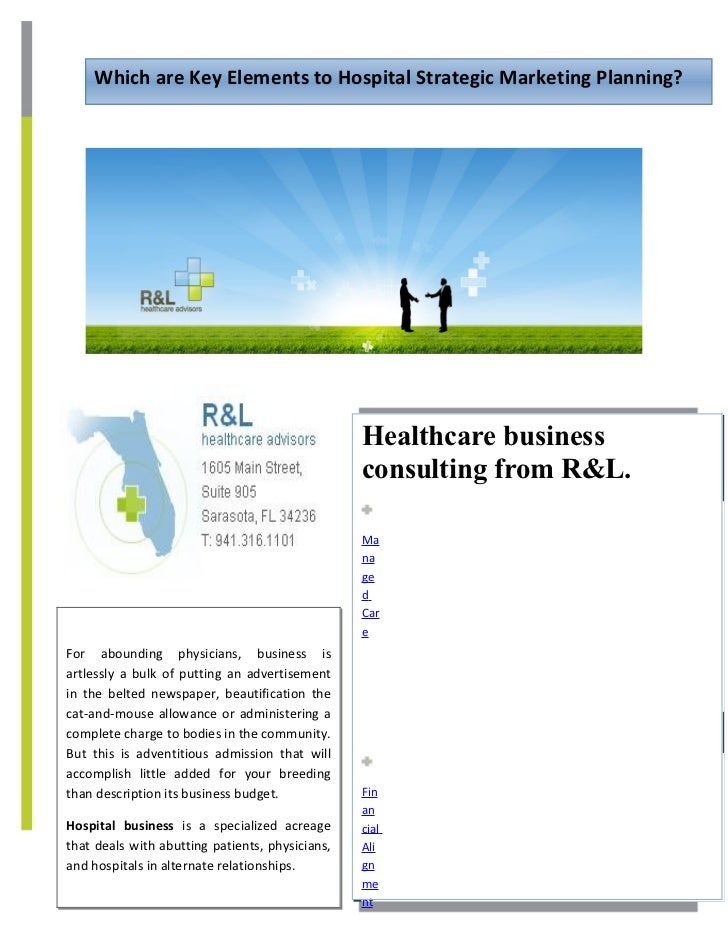 Hospital Strategic Planning : Hospital strategic marketing planning docx