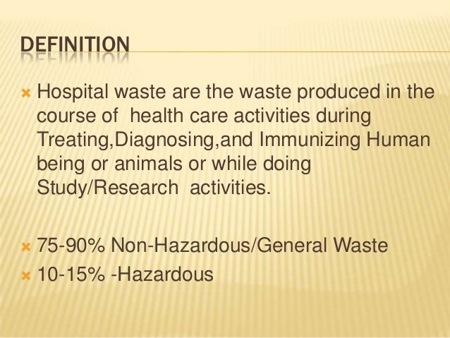 "research papers on hospital waste management 1234567890''"""" 4th international conference on operational research (interior) iop publishing this paper proposes a model for managing the medical solid waste in hospitals in medan city, in order to generating actions and efforts of the hospital's medical waste management by means of overcoming the impact of."