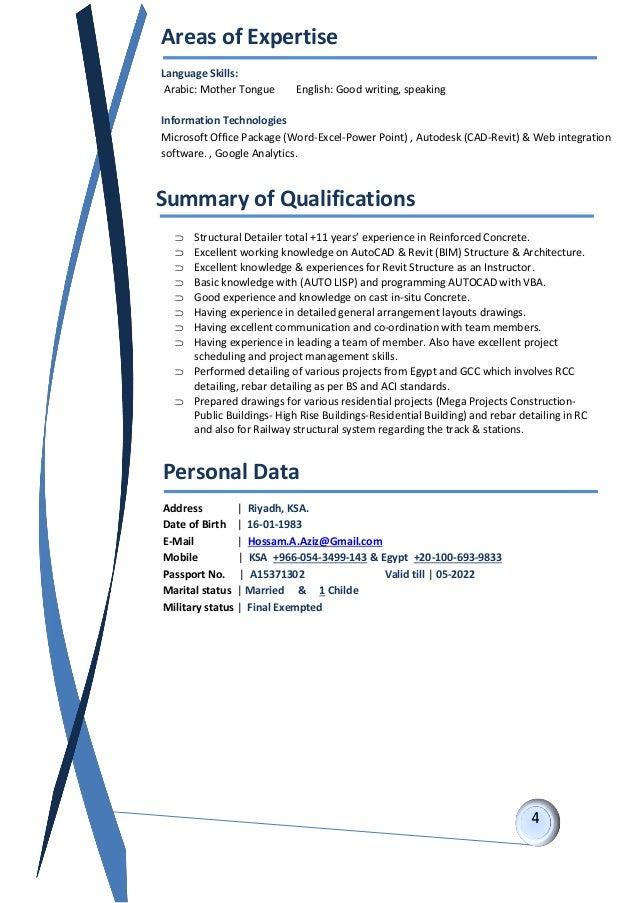 Rebar detailer resume - Rebar Jobs in Qatar - 5 Vacancies in