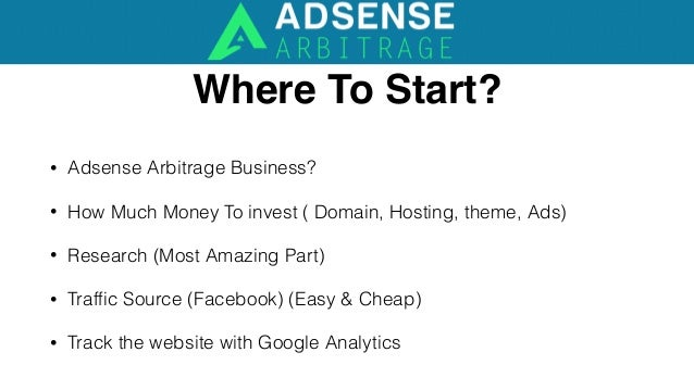 What is Traffic Arbitrage? Traffic Arbitrage is a way of getting a lot of traffic Cheaply,quickly and easily, Then Resell it ...
