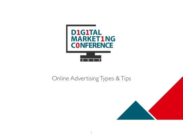 1 Online AdvertisingTypes &Tips