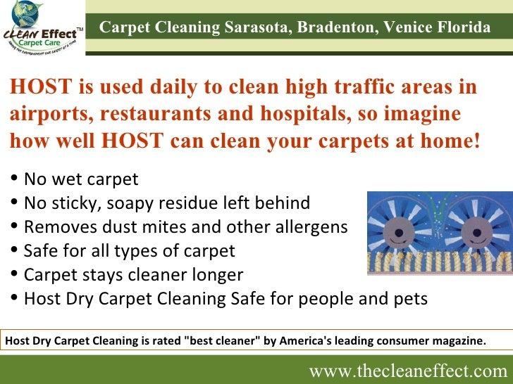 Host Dry Carpet Cleaning Process Sarasota Bradenton Venice Fl