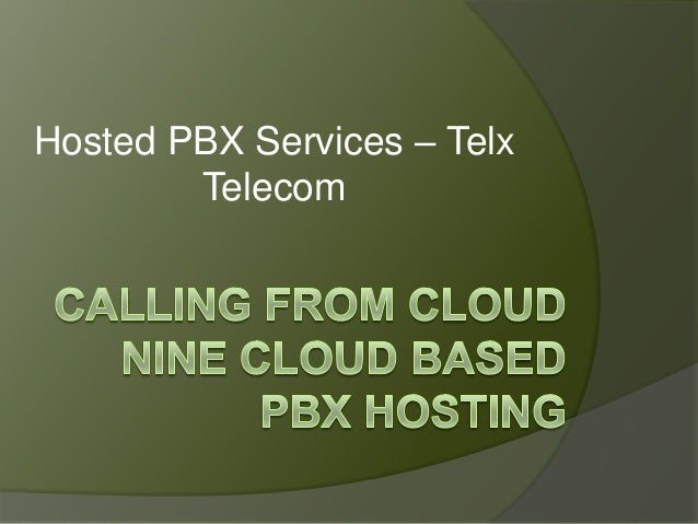 Hosted PBX Services – Telx Telecom