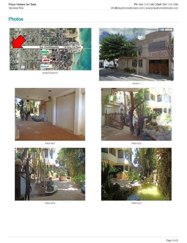sacbe8-spanish sacbe-1 P4041657 P4041615 P4041618 P4041612 Photos Playa Homes for Sale Ph: 984 113 1380 | Cell: 984 113 13...