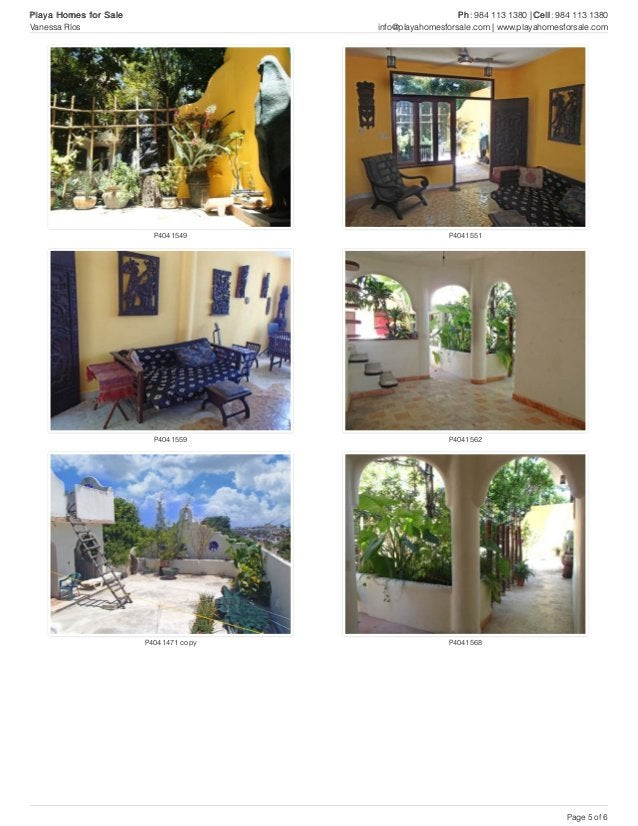 P4041549 P4041551 P4041559 P4041562 P4041471 copy P4041568 Playa Homes for Sale Ph: 984 113 1380 | Cell: 984 113 1380 Vane...