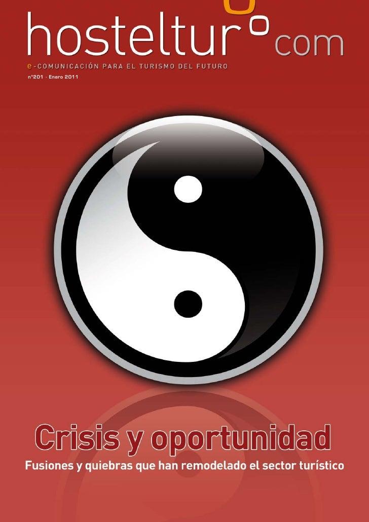 Hosteltur 201 crisis y oportunidad en el sector turistico