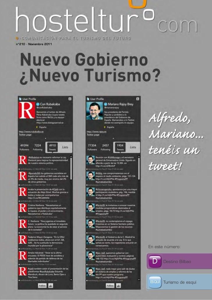 nº210 · Noviembre 2011                         En este número:                          D      Destino Bilbao             ...