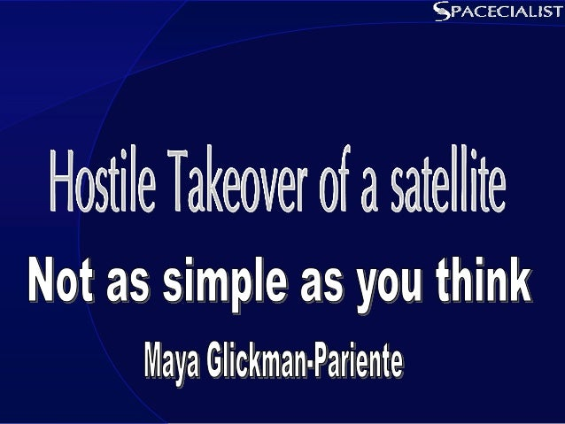 Presentation Content • Introduction • Satellite command 101 • So you want to overtake a satellite…? • Summary