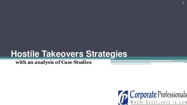 takeovers and additionally mergers lawsuit studies