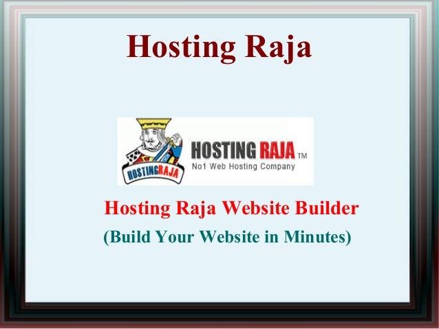 Hosting Raja Hosting Raja Website Builder (Build Your Website in Minutes)