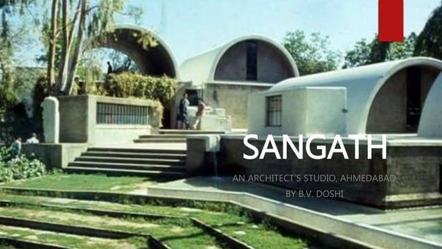 SANGATH AN ARCHITECT'S STUDIO, AHMEDABAD BY B.V. DOSHI