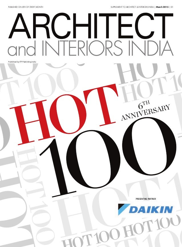 Hot 100 Architect Interior March 2015