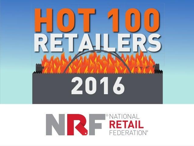 HOT 100 RETAILERS 2016