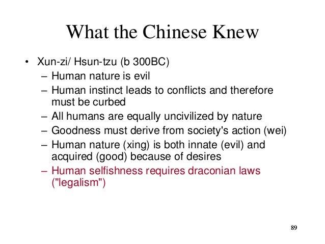 Xunzi (Hsün Tzu, c. 310—c. 220 B.C.E.)