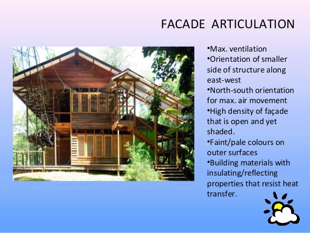 architecture in hot and humid climate
