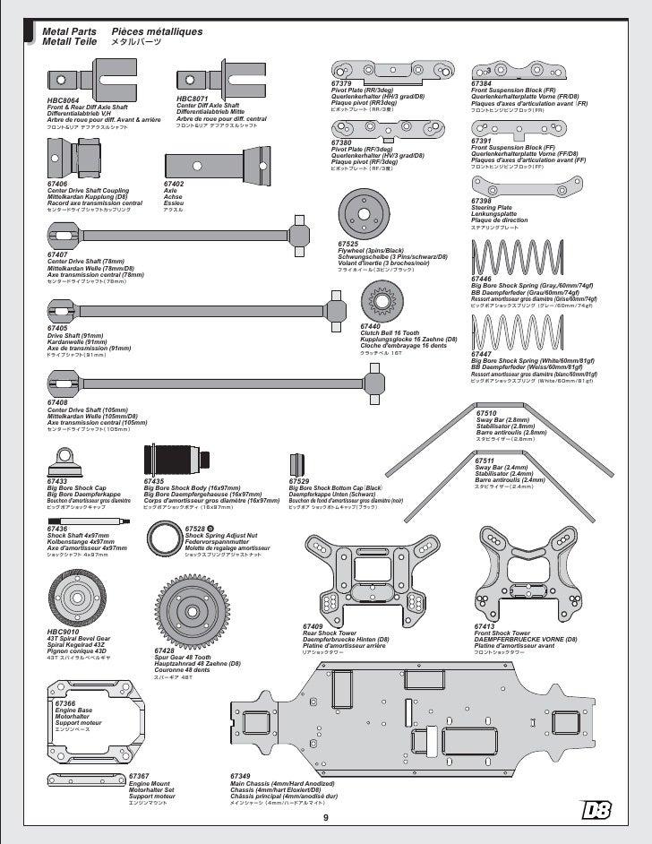 Manual de Montaje del Hotbodies D8