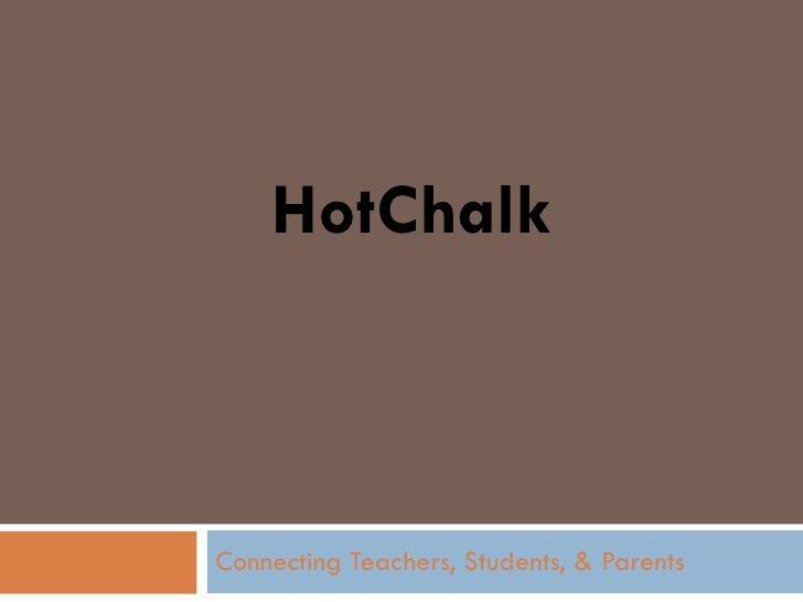 HotChalk Connecting Teachers, Students, & Parents