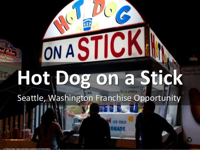 Hot Dog on a Stick Seattle, Washington Franchise Opportunity cc: Thomas Hawk - https://www.flickr.com/photos/51035555243@N...
