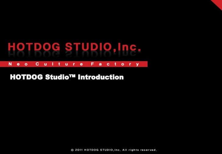 HOTDOG Studio™ Introduction