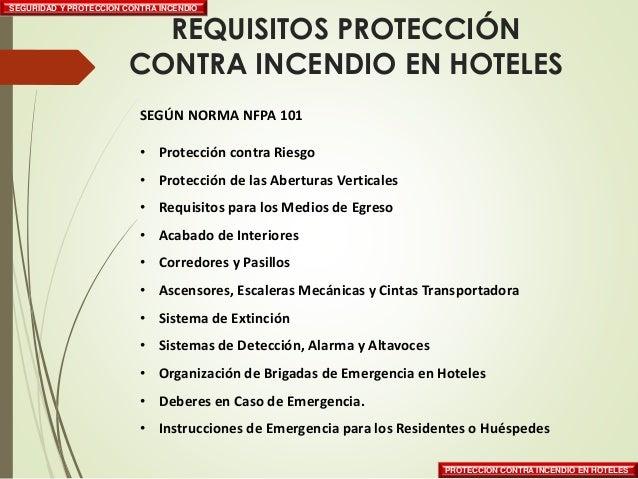 Incendio en hoteles for Pinturas proteccion contra incendios
