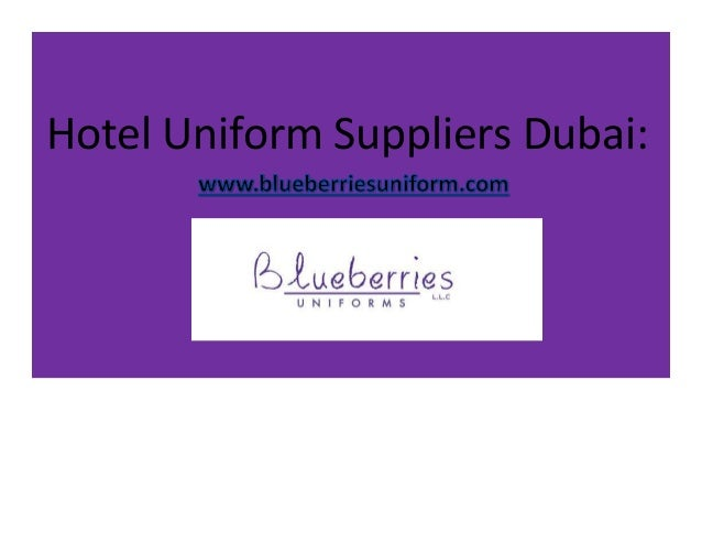 Hotel hospitality uniform company suppliers in dubai UAE