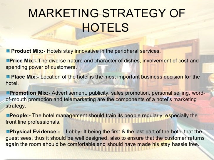 Hilton Hotel Marketing Strategy