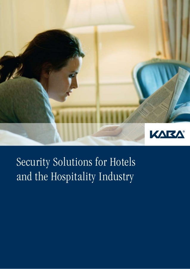 Security Solutions for Hotels and the Hospitality Industry