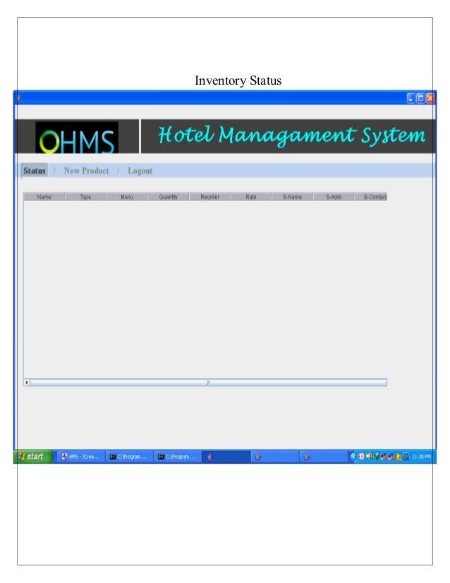 Hotel management-system-hms