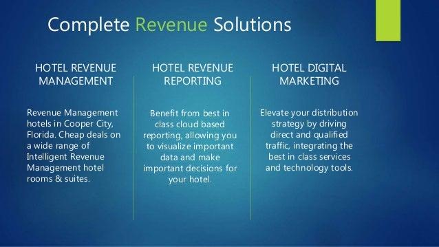 360° HOTEL REVENUE MANAGEMENT SOLUTIONS Slide 2