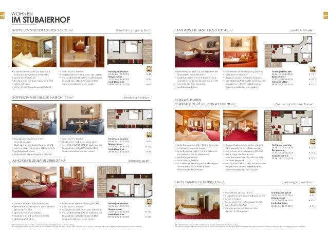 15 Seite 14 Seite Bitte informieren Sie sich über unsere Preise für Doppelzimmer zur Einzelnutzung. Sämtliche Zimmerpreise...