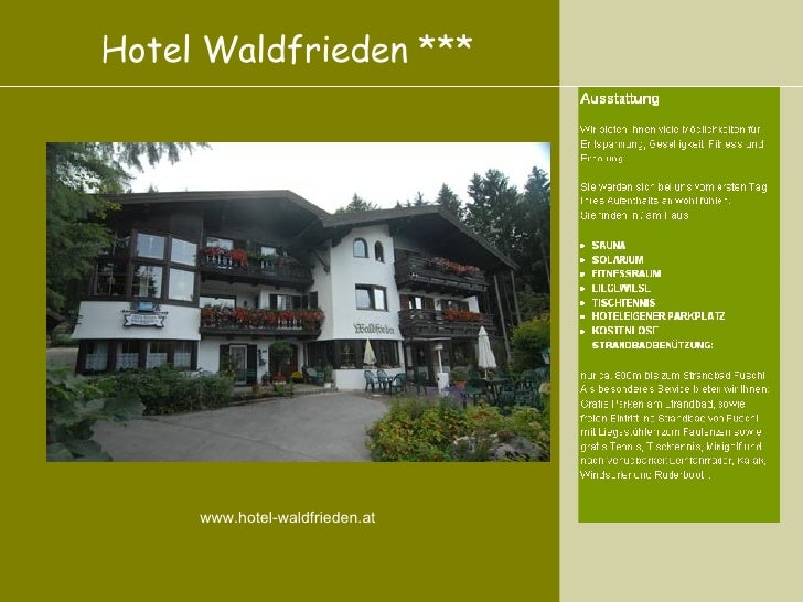 Hotel Pension Waldfrieden Fuschl