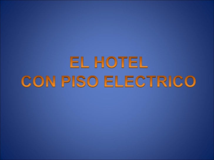 Hotel con piso electrico para 2003 2 1 Slide 2