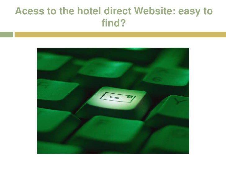E Business Hotel Direct Booking
