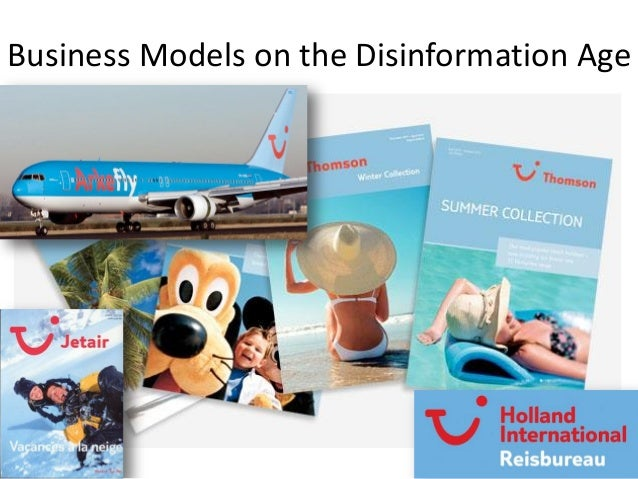 Business Models on the Disinformation Age