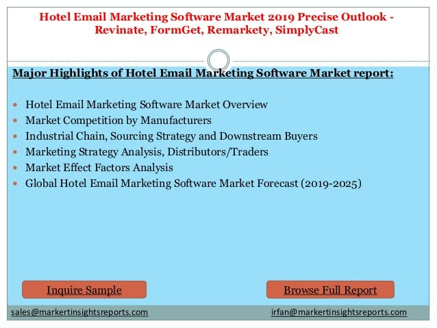 Hotel email marketing software Market Technology Advancement