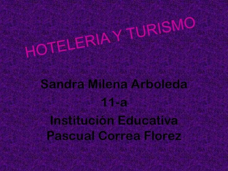 Sandra Milena Arboleda          11-a Institución Educativa Pascual Correa Florez