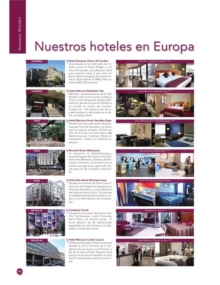 Nuestros Hoteles                     Nuestros hoteles en Europa                   LONDRES    Hotel Gouman Tower Of London ...
