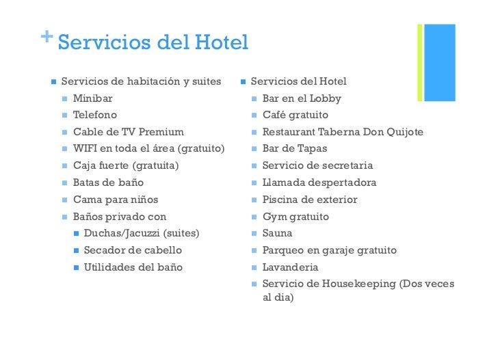 Hoteles boutique for Tipos de servicios de un hotel