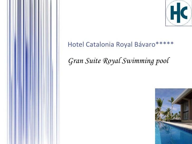 Gran Suite Royal Swimming pool Hotel Catalonia Royal Bávaro*****