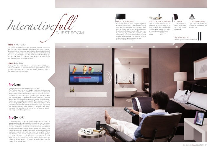 Interactivefull                                                                                     HOTEL TV (42LG650H)   ...