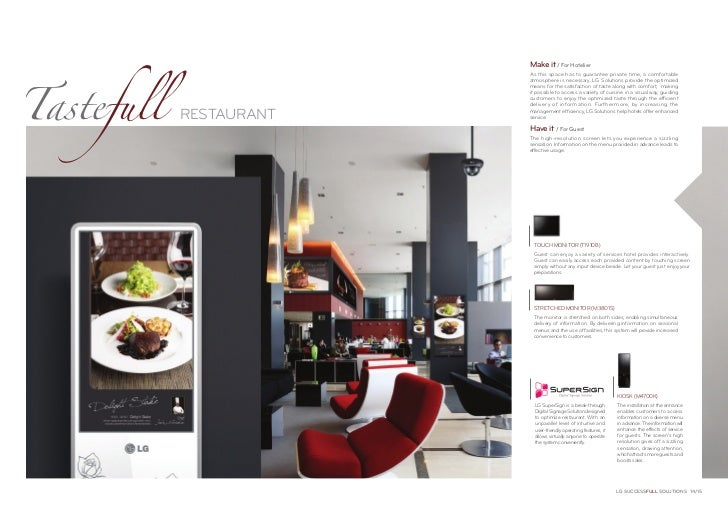 Tastefull                         Make it / For Hotelier                         As this space has to guarantee private ti...